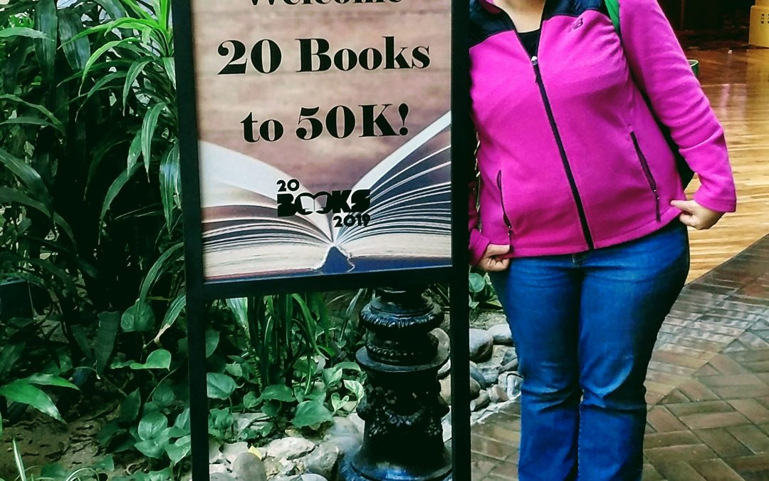 My Amazing and Inspiring First Day: 20 Books Vegas
